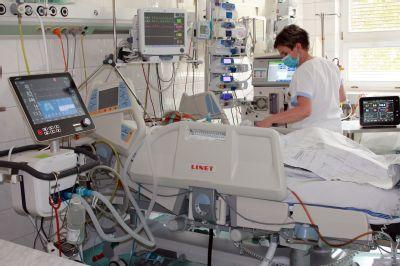 Oddělení ARO Nemocnice Podlesí využívá v péči o pacienty nejmodernější techniku