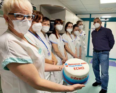 V nemocnici AGEL Třinec-Podlesí dýchaly přístroje za pacienta s covid-19 přes 40 dní. Dnes poděkoval svým zachráncům